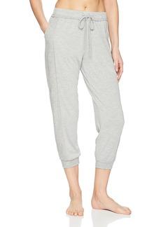 Splendid Women's Crop Jogger Capri Pant Pajama Bottom Pj  L