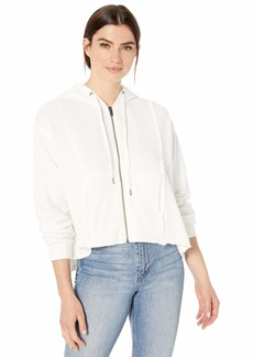 Splendid Women's Cropped Hoodie Pullover Sweater Sweatshirt  S