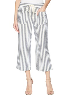Splendid Women's Cropped Wide Leg Pant Off