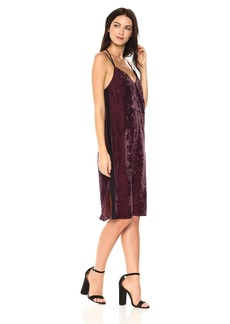 Splendid Women's Crushed Velvet Cami Dress  XL