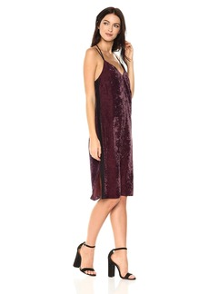 Splendid Women's Crushed Velvet Cami Dress  XS