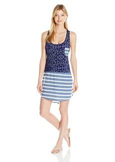 Splendid Women's Deckhouse Geo Dress Cover up  M