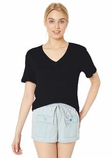 Splendid Women's Deep V-Neck Modal Tee T-Shirt  S