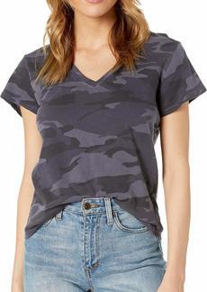 Splendid Women's Deep V-Neck Modal Tee T-Shirt  XS