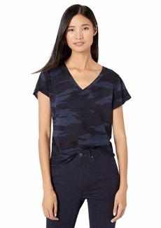 Splendid Women's Deep V-Neck Modal Tee T-Shirt  M