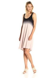 Splendid Women's Dip Dye Crosshatch Dress  M