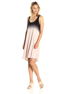 Splendid Women's Dip Dye Crosshatch Dress  S