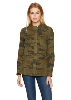 Splendid Women's Double Cloth Camo Jacket  L