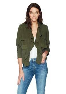 Splendid Women's Drape Front Jacket  M