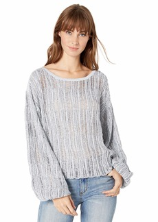 Splendid Women's Drop Needle Pullover  M