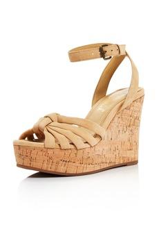 Splendid Women's Fallon Suede Wedge Sandals