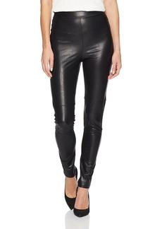 Splendid Women's Faux Leather Legging  L