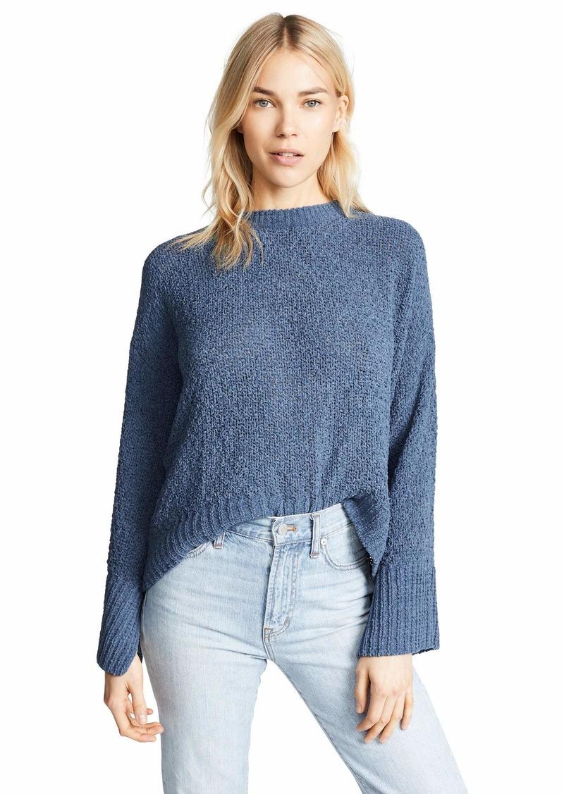 Splendid Women's Flare Sleeve Crewneck Pullover Sweater Sweatshirt  M