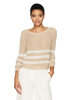 Splendid Women's Halloway Mesh Sweater  M