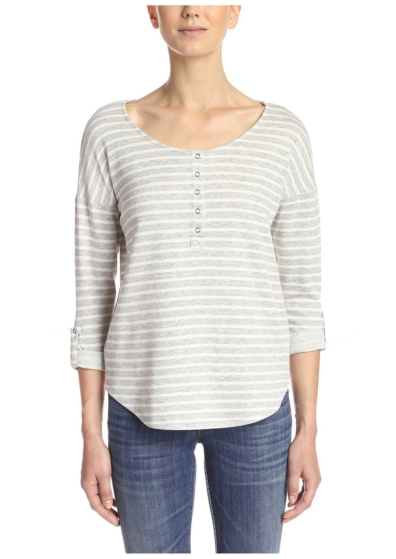 Splendid Women's Henley Top  XL