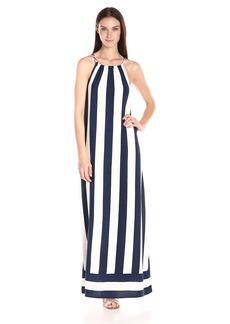Splendid Women's High Neck Maxi Dress