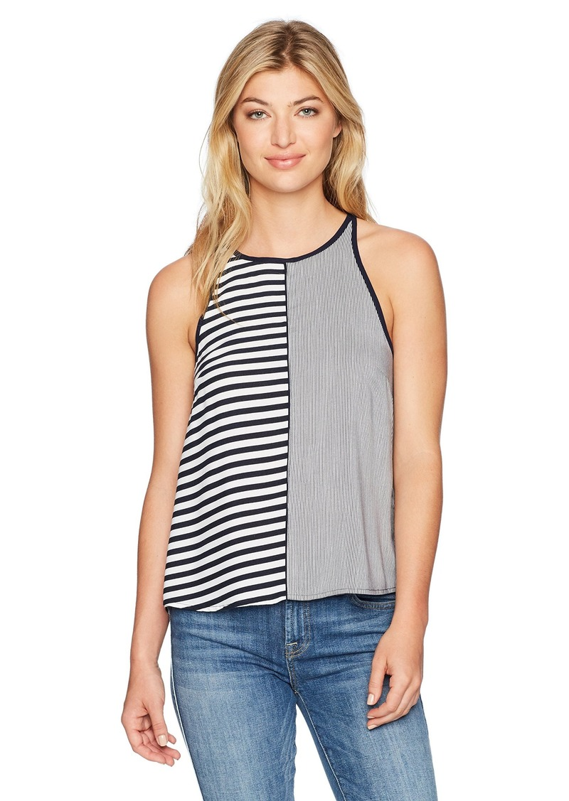 Splendid Women's High Neck Tank Top