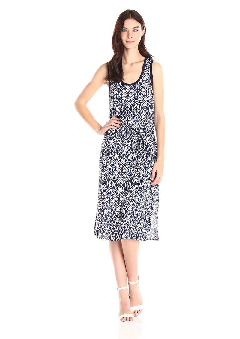 Splendid Women's Ikat Print Belted Dress