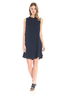 Splendid Women's Indigo Crosshatch Dress