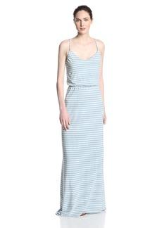 Splendid Women's Indigo Dye Maxi Dress