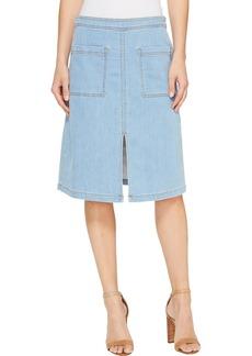 Splendid Women's Indigo Skirt Light wash XS