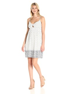 Splendid Women's Island Stamp Printed Dress  L