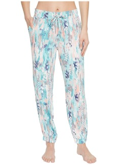 Splendid Women's Jogger Sweatpant Lounge Pant Bottom Pajama Pj