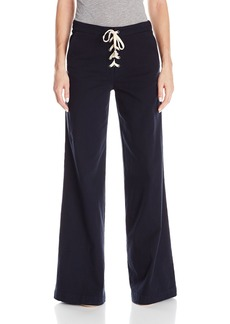 Splendid Women's Lace up Twill Pant  S