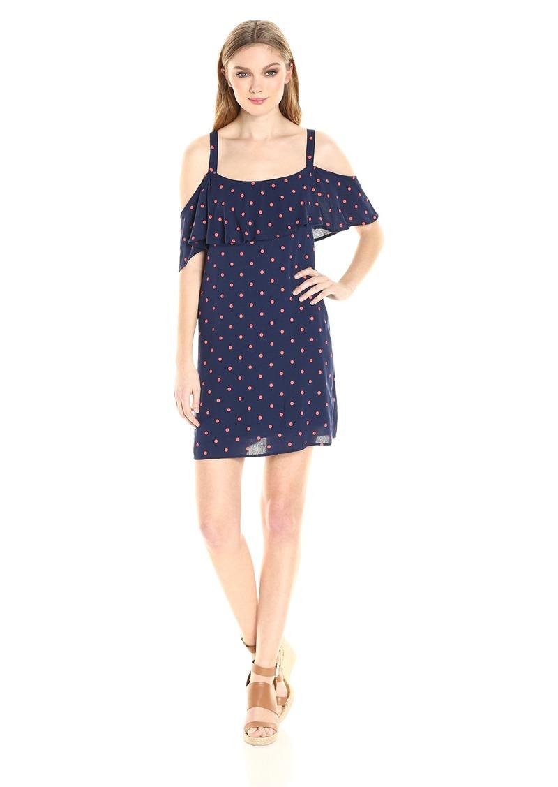 Splendid Women's Lacy Polka Dot Print Dress  S
