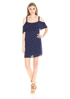 Splendid Women's Lacy Polka Dot Print Dress  XS