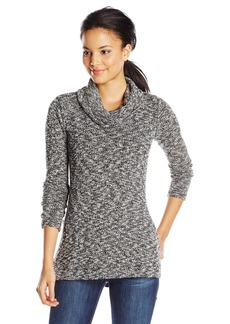 Splendid Women's Lake Front Cowl Neck Tunic Sweater