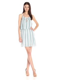 Splendid Women's Layered Dress Stripe