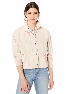 Splendid Women's Linen Cropped Jacket  M