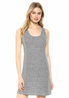 Splendid Women's Linen Scoop Neck Sleeveless Tank Dress  L