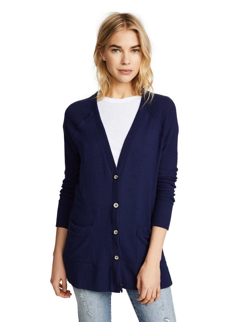 Splendid Women's Long Sleeve Button Up Cardigan
