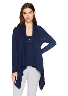 Splendid Women's Long Sleeve Cardigan Sweater Wrap Coverup Pajama Pj  L