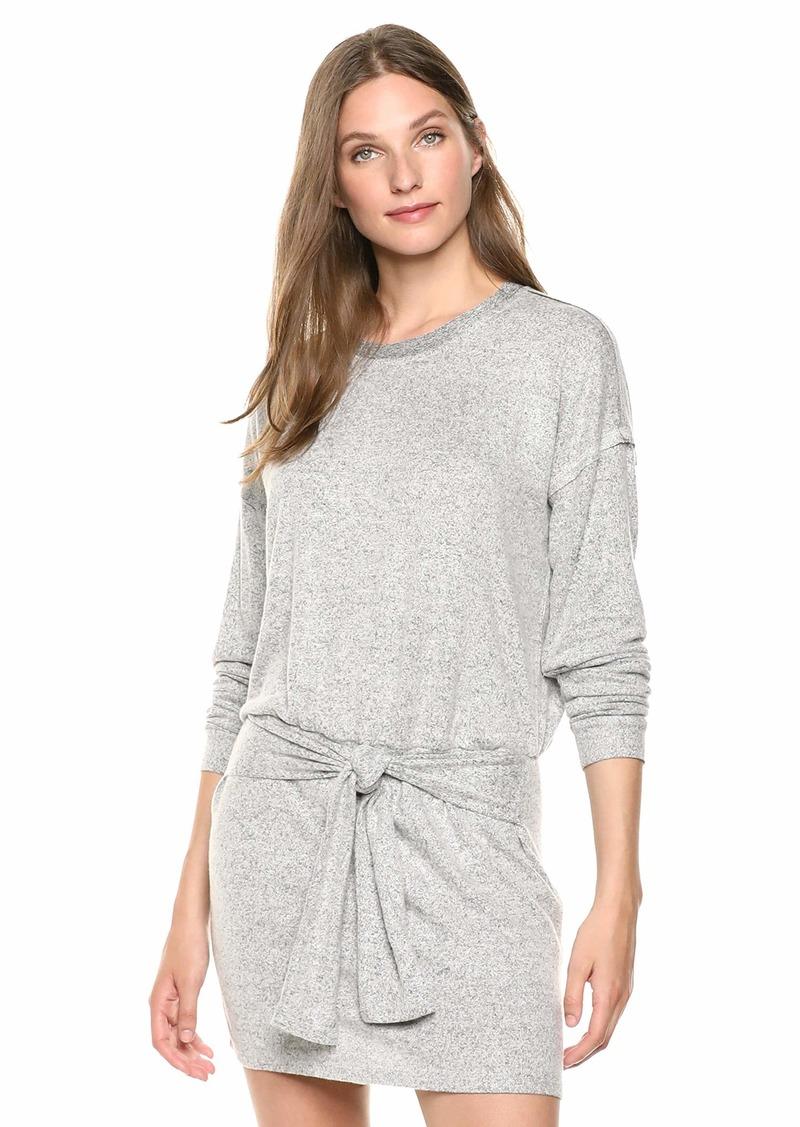 Splendid Women's Long Sleeve T-Shirt Dress  S