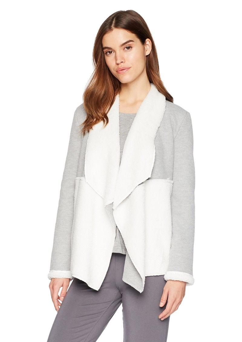 Splendid Women's Long Sleeve Thermal Cardigan Sweater Wrap Coverup Pajama Pj  M