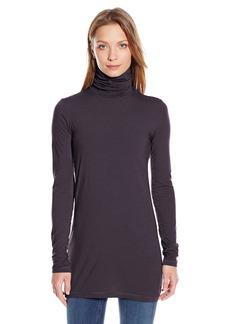 Splendid Women's Long Sleeve Turtleneck Top