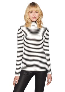 Splendid Women's Long Sleeve Turtleneck Top  M