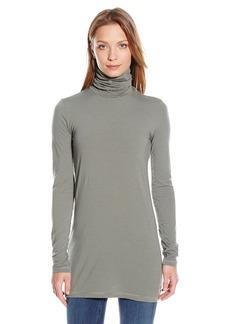 Splendid Women's Long Sleeve Turtleneck Top  X-Small