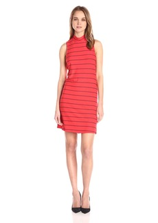 Splendid Women's Loralie Raised Yarn Dye Stripe Dress  M