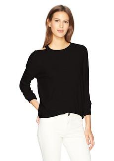 Splendid Women's Melange Sylvie Rib Shirt  L