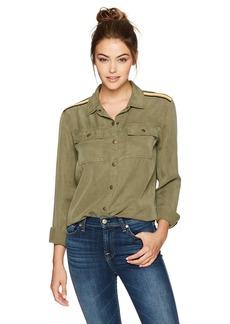 Splendid Women's Military Shirt  XS