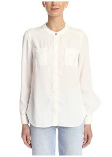 Splendid Women's Mixed Media ong Sleeve Shirt