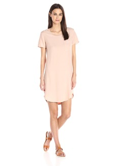 Splendid Women's Mixed Media T-Shirt Dress  L
