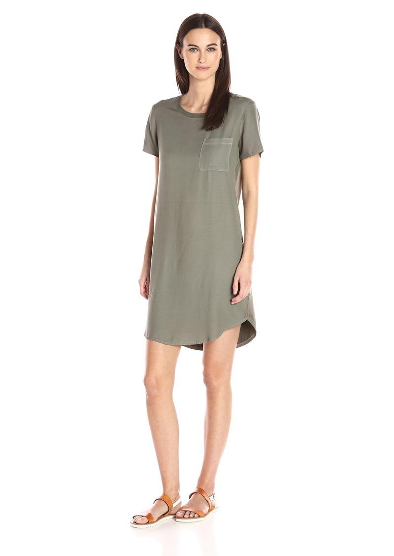 Splendid Women's Mixed Media T-Shirt Dress  L