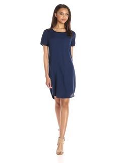 Splendid Women's Mixed Media T-Shirt Dress  S