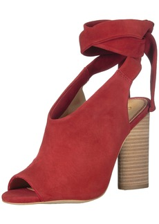 Splendid Women's Navarro Heeled Sandal Sequoia red  M US