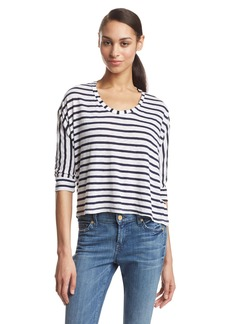 Splendid Women's Navy Classic Venice Stripe Dolman Top